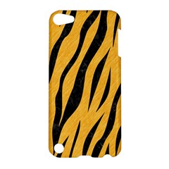 Skin3 Black Marble & Orange Colored Pencil (r) Apple Ipod Touch 5 Hardshell Case by trendistuff