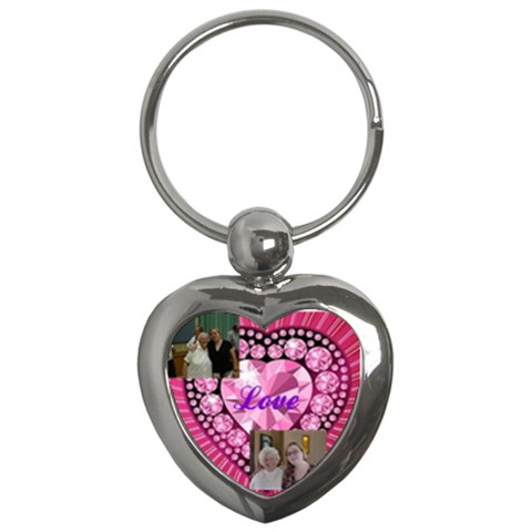 Christine Keychain By Shelleyww42 Gmail Com   Key Chain (heart)   I7n1rx27z92b   Www Artscow Com Front