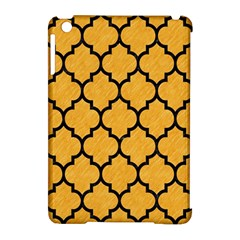 Tile1 Black Marble & Orange Colored Pencil (r) Apple Ipad Mini Hardshell Case (compatible With Smart Cover) by trendistuff