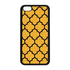 Tile1 Black Marble & Orange Colored Pencil (r) Apple Iphone 5c Seamless Case (black) by trendistuff