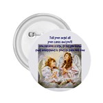 angel sign friend - 2.25  Button