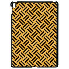 Woven2 Black Marble & Orange Colored Pencil (r) Apple Ipad Pro 9 7   Black Seamless Case by trendistuff