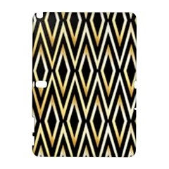 Gold,black,art Deco Pattern Galaxy Note 1 by 8fugoso