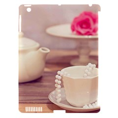 High Tea, Shabby Chic Apple Ipad 3/4 Hardshell Case (compatible With Smart Cover) by 8fugoso