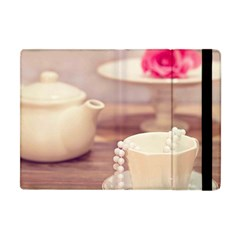 High Tea, Shabby Chic Apple Ipad Mini Flip Case by 8fugoso