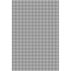Classic Vintage Black And White Houndstooth Pattern 5 5  X 8 5  Notebook by Beachlux