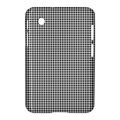 Classic Vintage Black And White Houndstooth Pattern Samsung Galaxy Tab 2 (7 ) P3100 Hardshell Case  by Beachlux