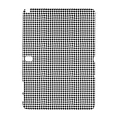 Classic Vintage Black And White Houndstooth Pattern Samsung Galaxy Note 10 1 (p600) Hardshell Case by Beachlux
