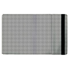 Classic Vintage Black And White Houndstooth Pattern Apple Ipad Pro 12 9   Flip Case by Beachlux