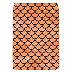 Scales1 Black Marble & Orange Watercolor Flap Covers (s)  by trendistuff