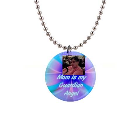 Christine Mom Necklace By Shelleyww42 Gmail Com   1  Button Necklace   J5kbam3qwywl   Www Artscow Com Front
