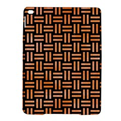 Woven1 Black Marble & Orange Watercolor (r) Ipad Air 2 Hardshell Cases by trendistuff