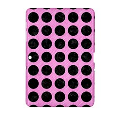 Circles1 Black Marble & Pink Colored Pencil Samsung Galaxy Tab 2 (10 1 ) P5100 Hardshell Case  by trendistuff