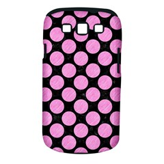 Circles2 Black Marble & Pink Colored Pencil (r) Samsung Galaxy S Iii Classic Hardshell Case (pc+silicone) by trendistuff