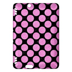 Circles2 Black Marble & Pink Colored Pencil (r) Kindle Fire Hdx Hardshell Case by trendistuff