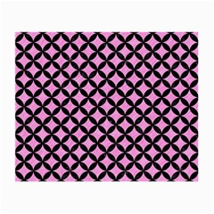 Circles3 Black Marble & Pink Colored Pencil Small Glasses Cloth by trendistuff