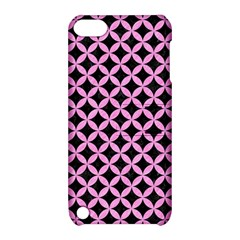 Circles3 Black Marble & Pink Colored Pencil (r) Apple Ipod Touch 5 Hardshell Case With Stand by trendistuff