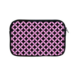 Circles3 Black Marble & Pink Colored Pencil (r) Apple Macbook Pro 13  Zipper Case by trendistuff