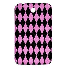 Diamond1 Black Marble & Pink Colored Pencil Samsung Galaxy Tab 3 (7 ) P3200 Hardshell Case  by trendistuff