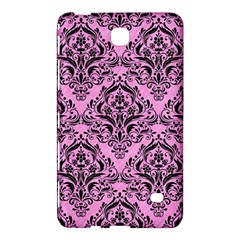 Damask1 Black Marble & Pink Colored Pencil Samsung Galaxy Tab 4 (7 ) Hardshell Case  by trendistuff