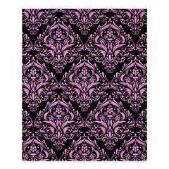 Damask1 Black Marble & Pink Colored Pencil (r) Shower Curtain 60  X 72  (medium)  by trendistuff