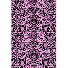 Damask2 Black Marble & Pink Colored Pencil 5 5  X 8 5  Notebooks by trendistuff