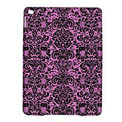 Damask2 Black Marble & Pink Colored Pencil Ipad Air 2 Hardshell Cases
