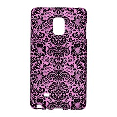 Damask2 Black Marble & Pink Colored Pencil Galaxy Note Edge by trendistuff