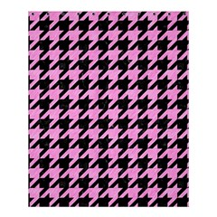 Houndstooth1 Black Marble & Pink Colored Pencil Shower Curtain 60  X 72  (medium)  by trendistuff