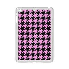 Houndstooth1 Black Marble & Pink Colored Pencil Ipad Mini 2 Enamel Coated Cases by trendistuff