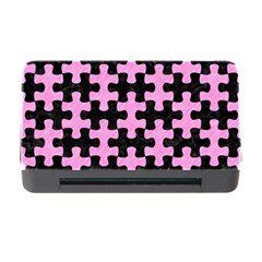 Puzzle1 Black Marble & Pink Colored Pencil Memory Card Reader With Cf by trendistuff