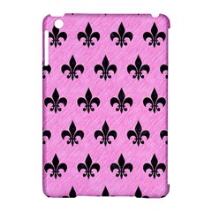 Royal1 Black Marble & Pink Colored Pencil (r) Apple Ipad Mini Hardshell Case (compatible With Smart Cover) by trendistuff