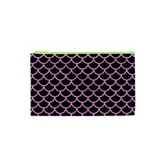 Scales1 Black Marble & Pink Colored Pencil (r) Cosmetic Bag (xs) by trendistuff