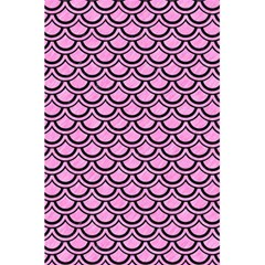 Scales2 Black Marble & Pink Colored Pencil 5 5  X 8 5  Notebooks by trendistuff