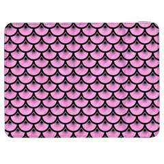 Scales3 Black Marble & Pink Colored Pencil Samsung Galaxy Tab 7  P1000 Flip Case by trendistuff