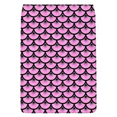 Scales3 Black Marble & Pink Colored Pencil Flap Covers (s)  by trendistuff