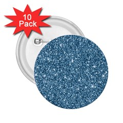 New Sparkling Glitter Print F 2 25  Buttons (10 Pack)  by MoreColorsinLife