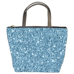 New Sparkling Glitter Print F Bucket Bags by MoreColorsinLife