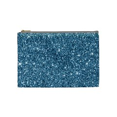 New Sparkling Glitter Print F Cosmetic Bag (medium)  by MoreColorsinLife
