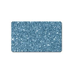 New Sparkling Glitter Print F Magnet (name Card) by MoreColorsinLife