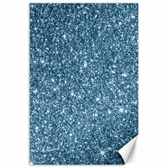 New Sparkling Glitter Print F Canvas 24  X 36  by MoreColorsinLife