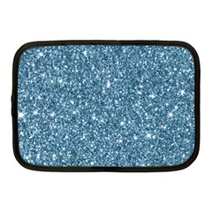 New Sparkling Glitter Print F Netbook Case (medium)  by MoreColorsinLife