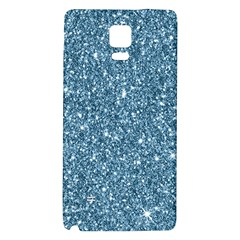 New Sparkling Glitter Print F Galaxy Note 4 Back Case by MoreColorsinLife