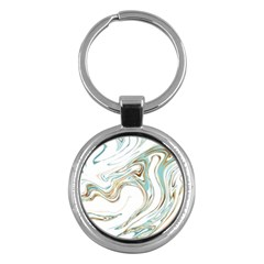 Abstract Marble 1 Key Chains (round)  by tarastyle
