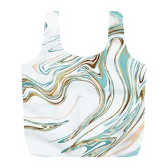 Abstract Marble 1 Full Print Recycle Bags (l)  by tarastyle