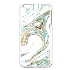 Abstract Marble 1 Apple Iphone 6 Plus/6s Plus Enamel White Case by tarastyle
