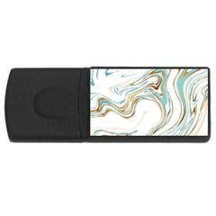 Abstract Marble 1 Rectangular Usb Flash Drive by tarastyle