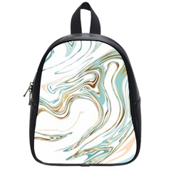 Abstract Marble 1 School Bag (small) by tarastyle