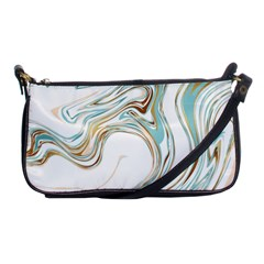 Abstract Marble 1 Shoulder Clutch Bags by tarastyle