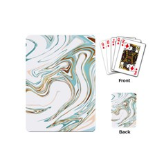 Abstract Marble 1 Playing Cards (mini)  by tarastyle